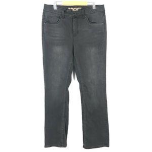 Melissa McCarthy 7seven slim boot jeans 14W x32
